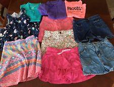 Big Lot Girls Clothes Sz 6-6x Skirts Shorts Tops Osh Kosh Carter's H&M Cat Jack