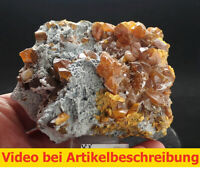 7415 Auripigment Orpiment ca 8*6*10 cm Twinn Creeks Mine USA MOVIE