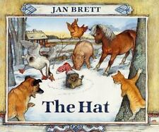 The Hat by Jan Brett (1997, Hardcover)