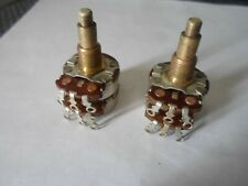 Vintage 1961 Fender stack Jazz Bass Pots Potentiometers stacked knob 1962