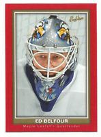 2005-06 UD Beehive Red #84 Ed Belfour Toronto Maple Leafs