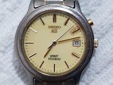 Vintage Seiko AGS Spirit Kinetic Titanium Watch