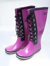 Sonia rykiel Chaussures Femmes Bottes Caoutchouc rosa Myrtille taxi botte violet 38 NEUF