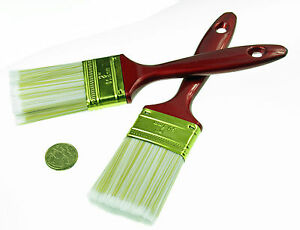 2 x Paintbrushes Polyester  Bristles Paint Brush 2 Inch 50 mm    * from Sydney*