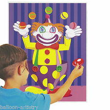 Childrens Party Stick on Nose Clown Game