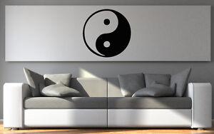 Wandtattoo Aufkleber Wandsticker Yin Yang chinesisches Zeichen 10 - 60 cm or007