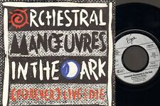 """Orchestral Manoeuvres in the Dark FOREVER Live & and Die  7"""" SINGLE  OMD 1986"""