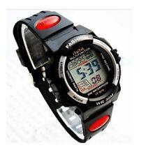 Boys Multi-Function Alarm Stopwatch LCD Sports Watch