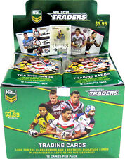 NRL 2014 RUGBY LEAGUE - Traders Trading Cards ~ Sealed Box (36ct) #NEW