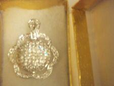 A Shiny Necklace w/ Glitz, Glamor&Class!Over 2ct CZ Sparkle Pendant-Free US Ship