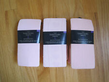 Solid Ribbed Embossed Pink Tights NWT 7 8 9 10 - PICK 1