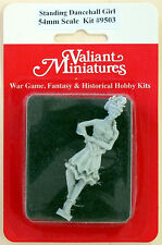 Valiant Miniature 54mm Hobby Kit# 9503 - Dance Hall Girl Standing - Resin