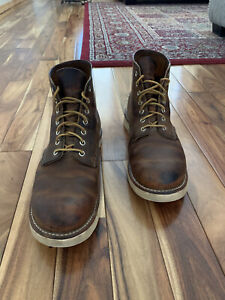 "Red Wing 9111 Men's 6"" Classic Round Boot (Copper Rough & Tough, 11D)"