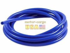 """3 mm 0.12"""" ID Blue Vacuum Silicone Hose Racing Line Pipe Tube 1 Foot"""