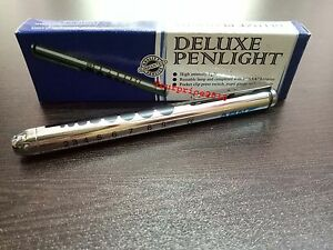 KFW Deluxe Pen Light High Intensity light Medical Ophthalmology Optometry EMT