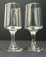 Pair of Victorian Port Glasses c.1880