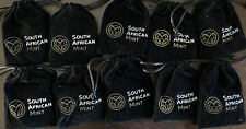 2017 South Africa 1 Oz Silver Krugerrand 50th Privy Mark COA & Pouch Lot of 10