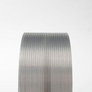 [3DMakerWorld] Protopasta Translucent HTPLA - 2.85mm, 500g, Silver Smoke