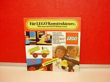 VINTAGE 1976 LEGO EXPERTS GUIDE / PRODUCT CATALOG - IN GERMAN