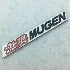✔️ 2X HONDA TYPE R RED High Quality Aluminium Emblem Badge 3M 145mm x 30mm