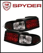 Spyder LED Black Tail Lights for 1995-1998 Nissan 240SX S14