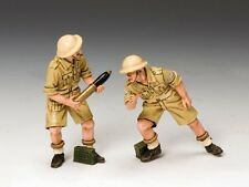 King & Country Soldiers EA061 WWII Eighth Army M7 Priest Crew 1/30 Scale