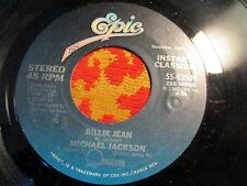 "Michael Jackson Billie Jean 45 RPM 7"" Cant Get Outta The Rain Thriller 34-03509"