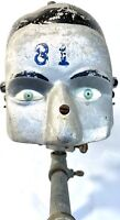 Vintage RARE 1930s American Medical Aluminum Painted Dental-Form Phantom Head