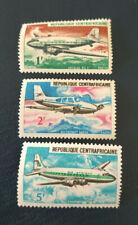 Gabon 1967 Aircraft - Avion - lot complet - neuf