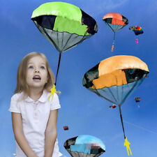 4Pcs Hand Throw Mini Soldier Parachute Toy For Kids Childrens Outdoor Sports