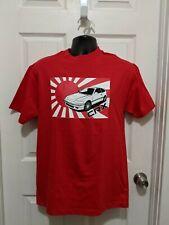 88-91 Honda Civic CRX Si Hatchback T-Shirt JDM Japanese flag 88 88 90 91 Rare