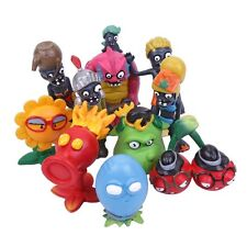 PLANTS VS ZOMBIES - SET 10 FIGURAS / 10 FIGURES SET 5-8cm