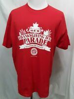 H-E-B THANKSGIVING DAY PARADE Red T-Shirt Tee Size 2XL- 2XLarge HEB
