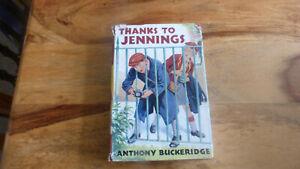 JENNINGS BUCKERIDGE THANKS TO JENNINGS 1957 1ST