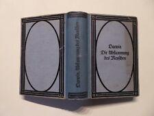 Buch, Charles Darwin, Die Abstammung des Menschen, Zuchtwahl, Reclam 1921