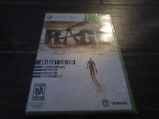 NEW Sealed Rage -- Anarchy Edition (Microsoft Xbox 360, 2011)