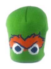 Sesame Street Oscar the Grouch Eyes Beanie Size 3 to 6 Months Hat Winter Stretch