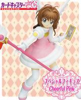 Furyu Card Captor Sakura Kinomoto Sakura Special Figure Series Cheerful Pink NEW