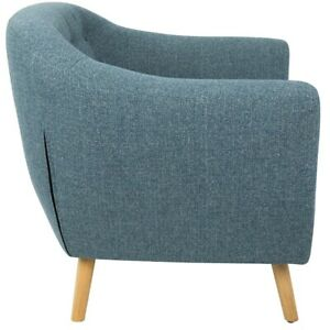 LumiSource Rockwell Chair, Blue -CHR-AZ-RKWLBU