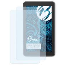 Bruni 2x Lámina Protectora para Dragon Touch M7 Película Protectora