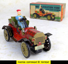 1907 friction Ford toy car with driver Marx Linemar in original box