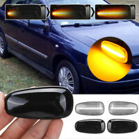 2x Dynamic LED Side Indicator Repeater Light For Vauxhall Opel Zafira A