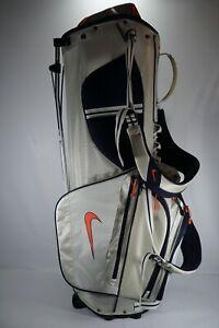 Nike Xtreme Sport IV Stand Bag / White and Blue / With Rainhood