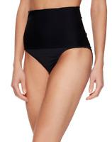 Trina Turk Womens Black Key High Waist Hipster Bikini Bottom Size 10 75245