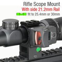 20mm Picatinny Rail Tri Rail 25.4/30mm Ring Scope Mount Spirit Bubble Level