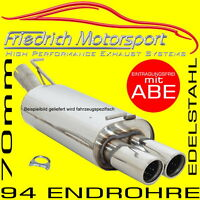 FRIEDRICH MOTORSPORT V2A SPORTAUSPUFF 70MM BMW 114i 116i F20/F21