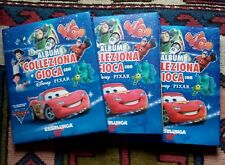 LOTTO 3 ALBUM DISNEY PIXAR ESSELUNGA  SECONDA SERIE COMPLETO CON TABELLONI