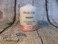 Christening  Baptism  Communion  Confirmation personalised candle