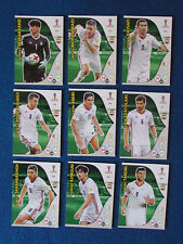 Panini Adrenalyn XL World Cup Russia 2018 - Lot of 9 - Iran - Complete Base Set