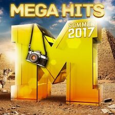 MEGAHITS-SOMMER 2017  (JAMES BLUNT, LINKIN PARK, ED SHEERAN, ...) 2 CD NEU